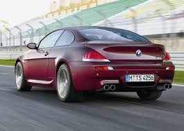 2006 bmw m6 mpg bmw m6 review the about cars