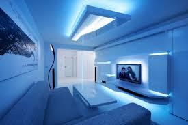 futuristic home interior white stripes futuristic living room interior design integrated