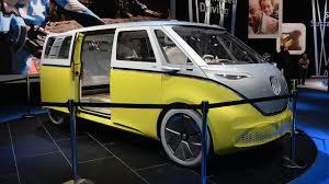 volkswagen van interior volkswagen i d buzz concept detroit auto show naias 2017