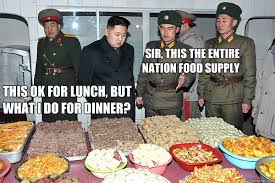 Kim Jong Un Snickers Meme - sir this the entire nation food supply this ok for lunch but