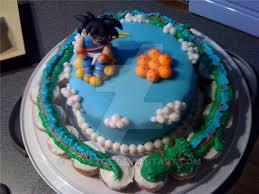 dragonball cake by anyazoe on deviantart