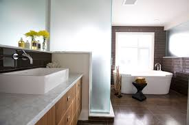 Bathroom Vessel Sink Ideas Glass Vessel Sinks For Adding Bathroom U0027s Beauty Modern Glass