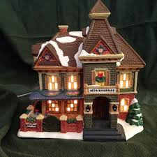 interior photos of the cottage and village towne model find more christmas village bed and breakfast carole towne for sale