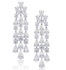 diamond chandelier earrings friday 5 chandelier earrings the jewelry magazine