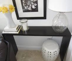 tall black console table console table lack sofa table most wanted modern design skinny