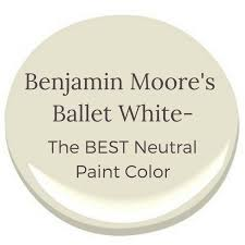 what is the best benjamin white paint for kitchen cabinets benjamin s ballet white the best neutral color