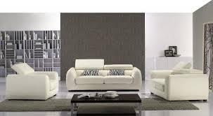 Luxury Leather Sofa Sets Luxury White Leather Sofa Set With Adjustable Headrests Idaho