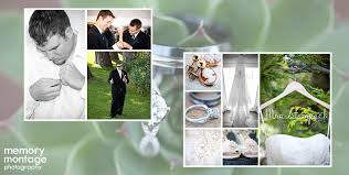 wedding photo album memory montage photography recent wedding album design