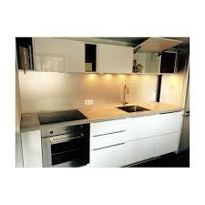hauteur de cuisine crédence de cuisine en aluminium anodisé de 1 5mm hauteur 35 cm