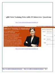 tutorial qlikview pdf qlikview training document with 153 interview questions scripting