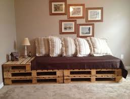 Wooden Sofa Come Bed Design Pallet Addicted 30 Bed Frames Made Of Recycled Pallets