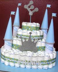 21 best prince diaper cake images on pinterest castle diaper