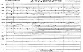 america the beautiful arr jay dawson j w pepper sheet music