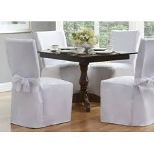 gray chair covers kitchen dining chair covers you ll wayfair
