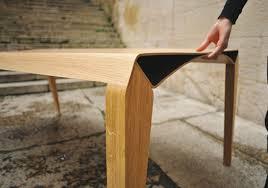 Plywood Design Elegant Simple And Functional Design U201ctriomphe U201d Plywood Table