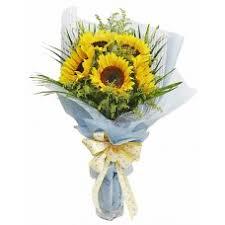 Sunflower Bouquets Sunflower Flowers Delivery Philippines Online Flower Shop