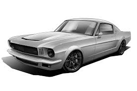Black 65 Mustang 1965 Ford Mustang Vapor With 785 Hp Will Descend Upon Sema Next