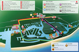 Fort Lauderdale Florida Map by Parking U0026 Transportation At Fort Lauderdale International Boat