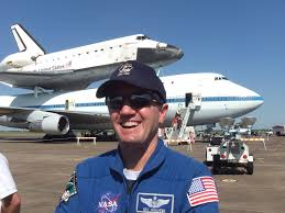 space shuttle astronaut file astronaut rex walheim in front of space shuttle endeavour jpg