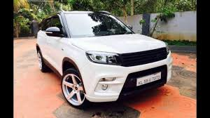 modified range rover maruti brezza modified like range rover evoque youtube