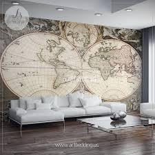 adhesive wall murals home decorating interior design bath good adhesive wall murals part 11 vintage hemisphere map wall mural
