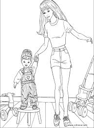 barbie37 barbie printable coloring pages kids