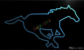 2017 ld414 calgary stampeders neon light sign home decor crafts