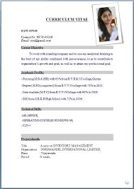 resume formats exles resume sle format tomyumtumweb