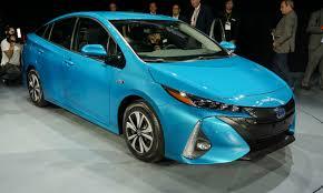 toyota new car 2016 new york auto show 2017 toyota prius prime autonxt
