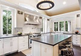black kitchen countertops with white cabinets white kitchen cabinets with countertops designing idea