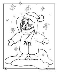 snow bunny coloring woo jr kids activities