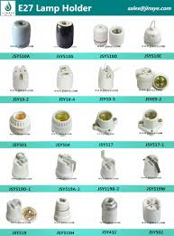 light bulb connector types e26 e27 rohs certification and edison style l connector