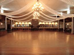 Wedding Reception Decorations Lights String Lights And Drapes Make This Wedding Reception Venue And