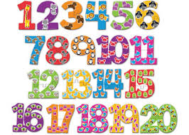counting numbers 1 to 20 counting numbers mathematics