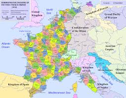 World Map France by A Fascinating Map Of The Numerous Divisions Of The French Empire