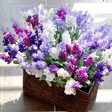 flowers home decor 10 head bouquet beautiful artificial lavender silk flowers rons