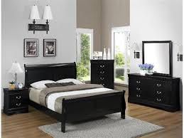 Distressed Black Bedroom Furniture by Awesome Black Queen Bedroom Set