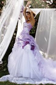 Purple Wedding Dresses 16 Alternative Colored Wedding Dresses Wedding Dresses