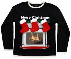 jimmy fallon selects newest skedouche high tech fireplace sweater
