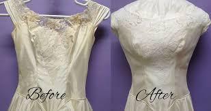 wedding dress restoration s wedding gown restoration a success heritage garment