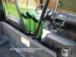 arctic cat wildcat prowler atv and utv snorkel kits led light kits