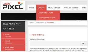 joomla template jsn pixel by joomlashine com product tour