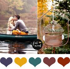 fall wedding color palette autumn wedding colour palette copper and green wedding