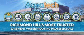 basement waterproofing richmond hill 416 300 2191 aquatech