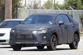 lexus harrier 2016 2016 lexus rx seven seater spied looks like lexus listen to their