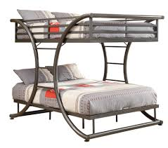 bunk beds loft beds for kids bedroom furniture with desk and drawers casual gunmetal built in ladder full full bunk bed