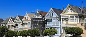 Victorian House San Francisco by World Famous Painted Ladies Victorian Homes