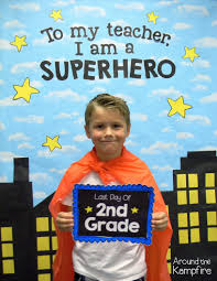 Superhero Photo Booth 10 Ways To Give Your Students A Superhero Send Off Around The