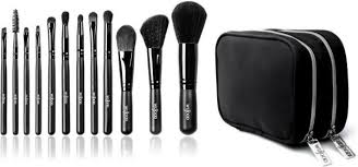 professional makeup tools wujood 12 professional makeup brushes set hypoallergenic
