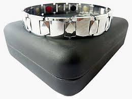 energy bracelet mens images Mens magnetic energy bracelet silver plain jpg
